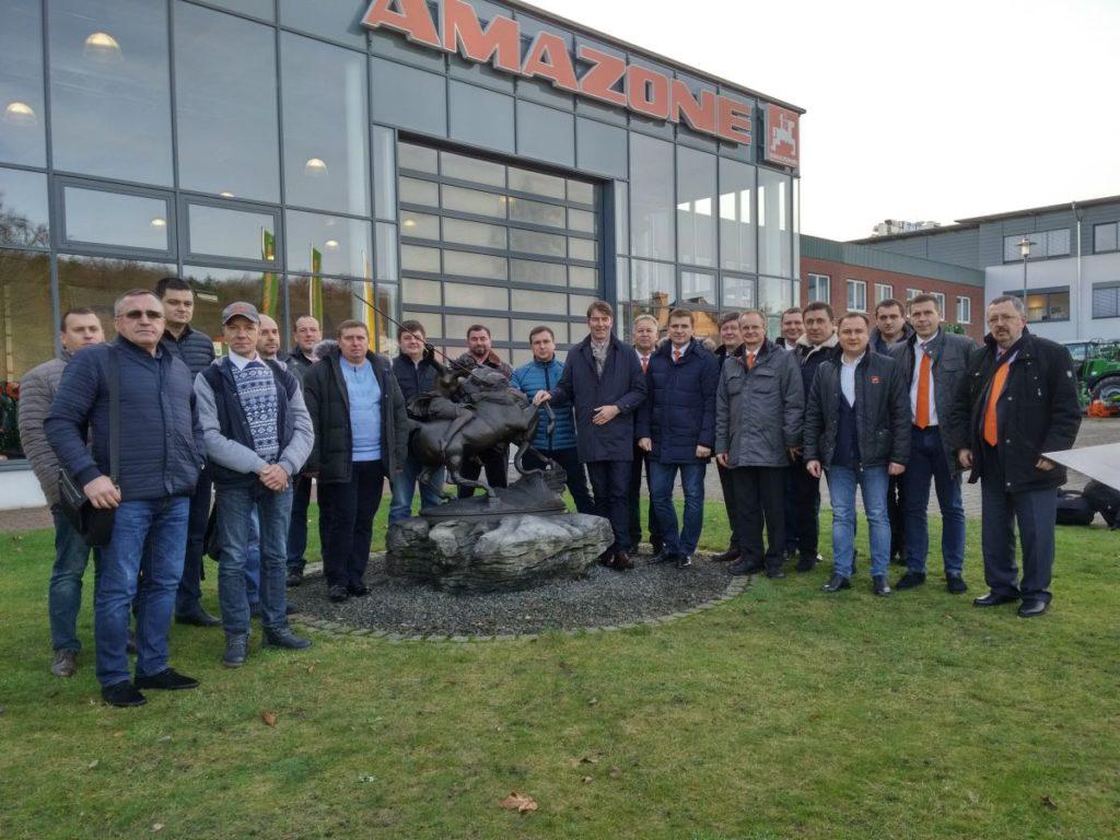 встреча дилеров 2018 завод амазоне фото
