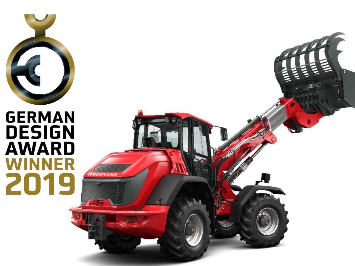 Погрузчики Weidemann получили премию German Design Award 2019