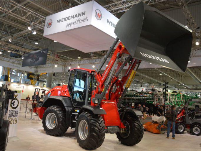 На SIMA 2019 WEIDEMANN показал фронтальный погрузчик 5 тонн