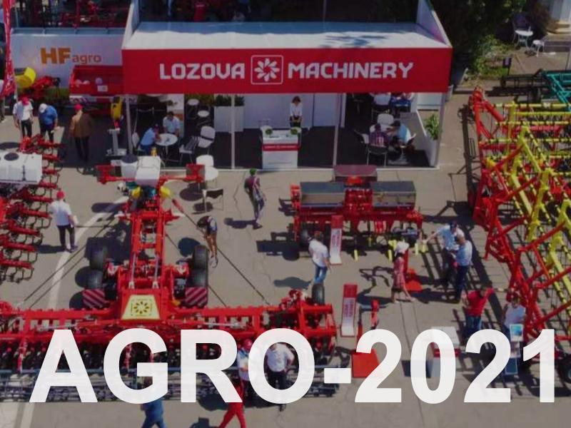 Новинки, обновления и модификации LOZOVA MACHINERY на AGRO-2021
